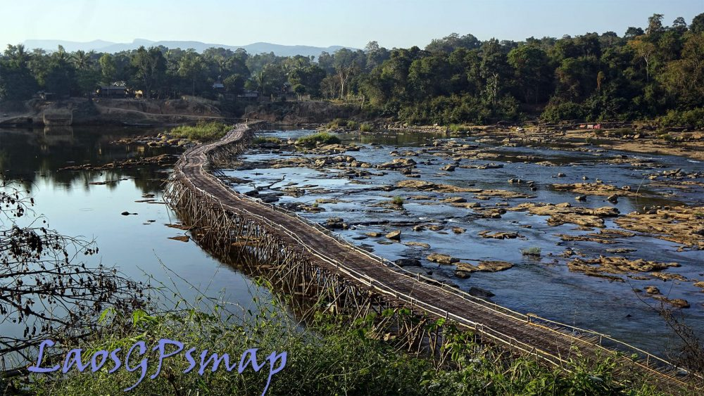 ho chi minh trail bamboo bridge