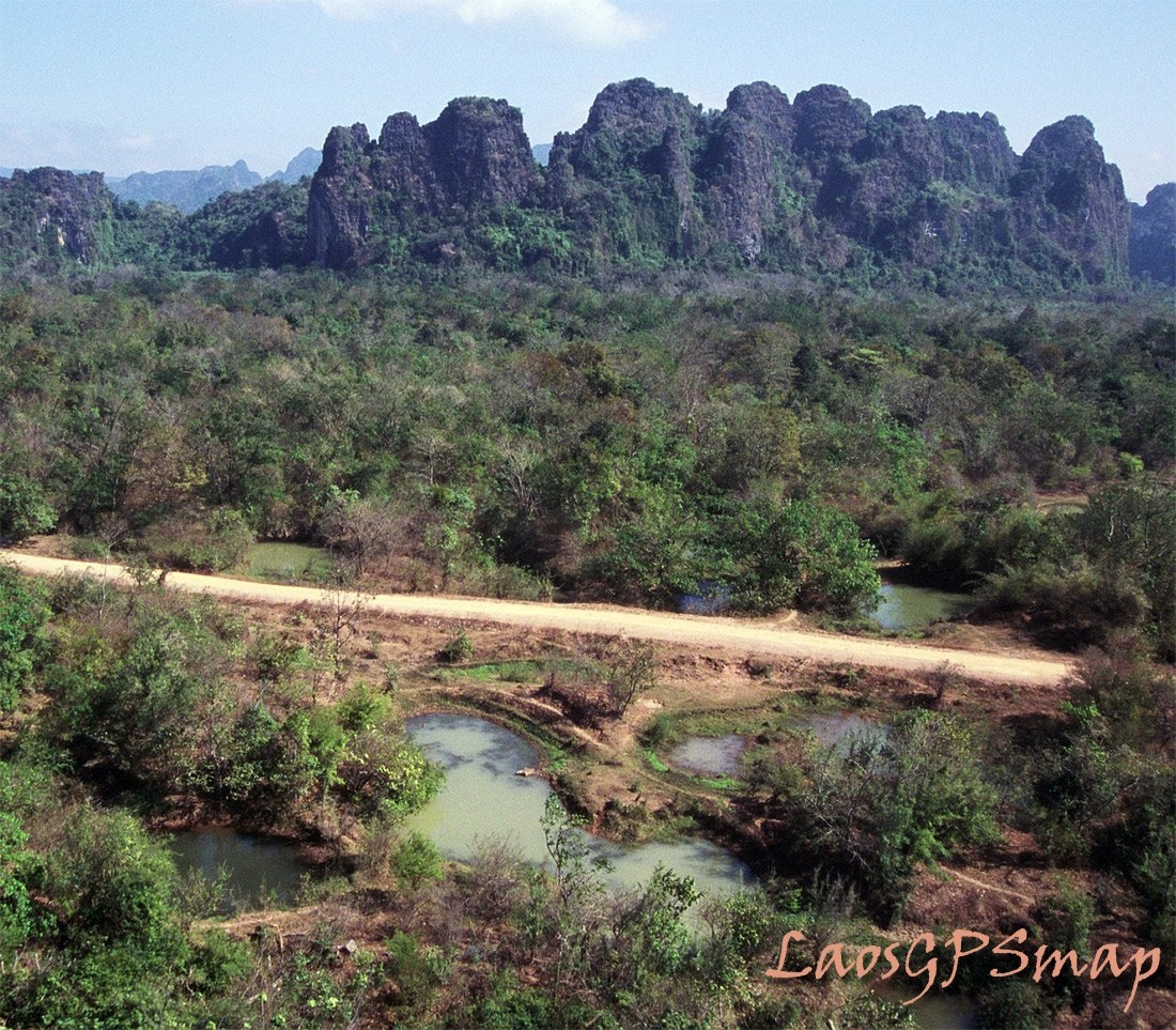 2004 Along the Ho Chi Minh trail Phanop Valley