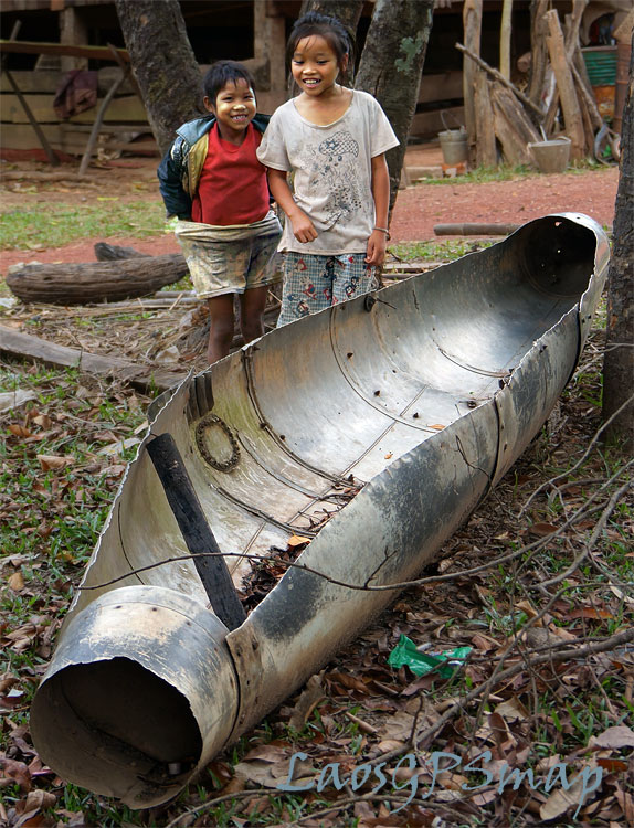 Ho Chi Minh Trail Fuel Pod, kids