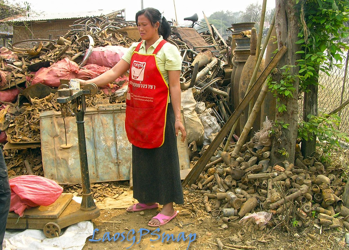 Ho Chi Minh Trail Scrap seller