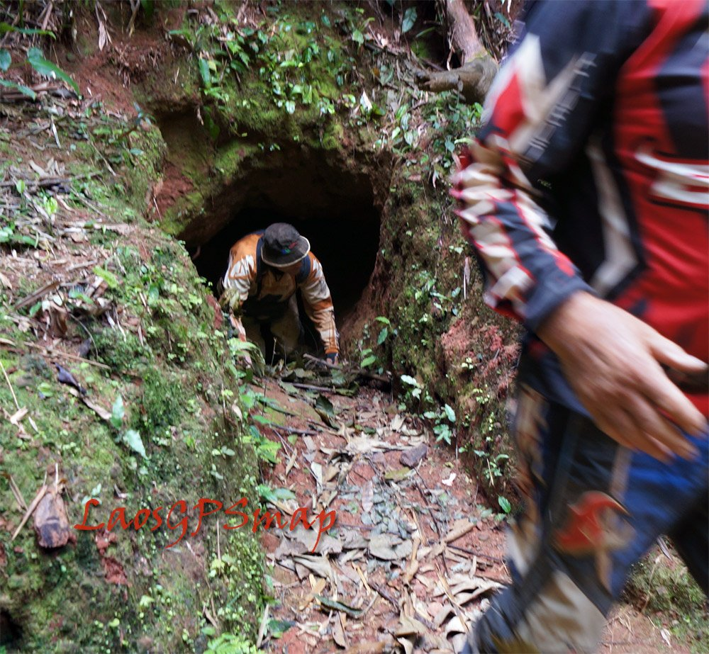 More tunnels found along the Ho Chi Minh trail, probably headquarters for the 559 Road Division