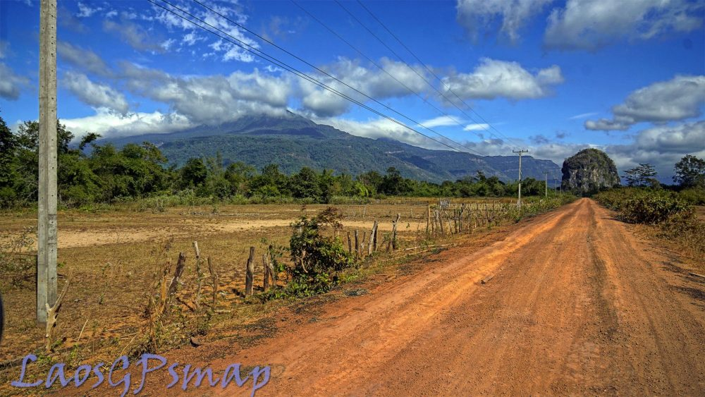 Phanop Valley Ho Chi Minh Trail road 23