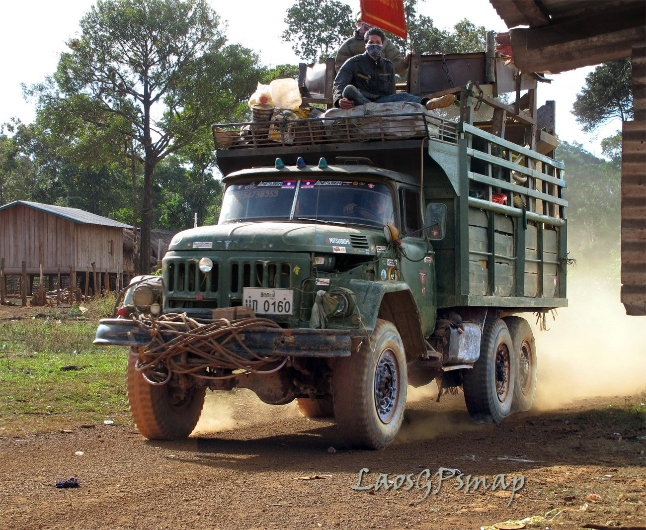 Russian Kamaz on the Old Ho Chi Minh Trail