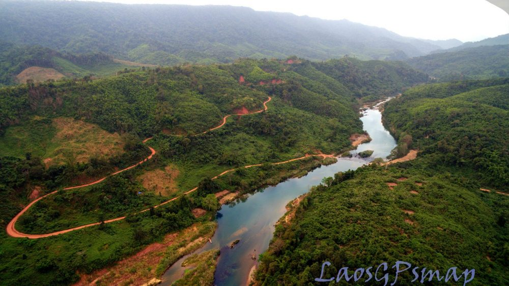 Ban Laboy ford Ho Chi Minh trail