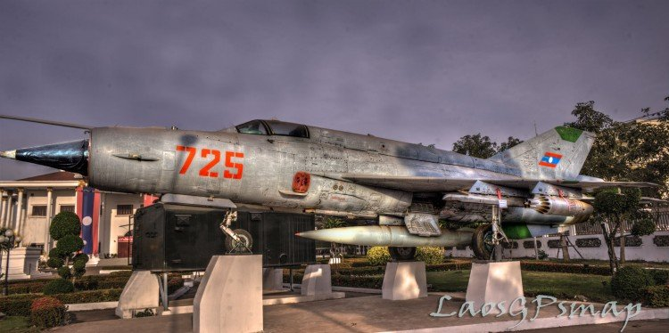 Mig 21 Lao Air force