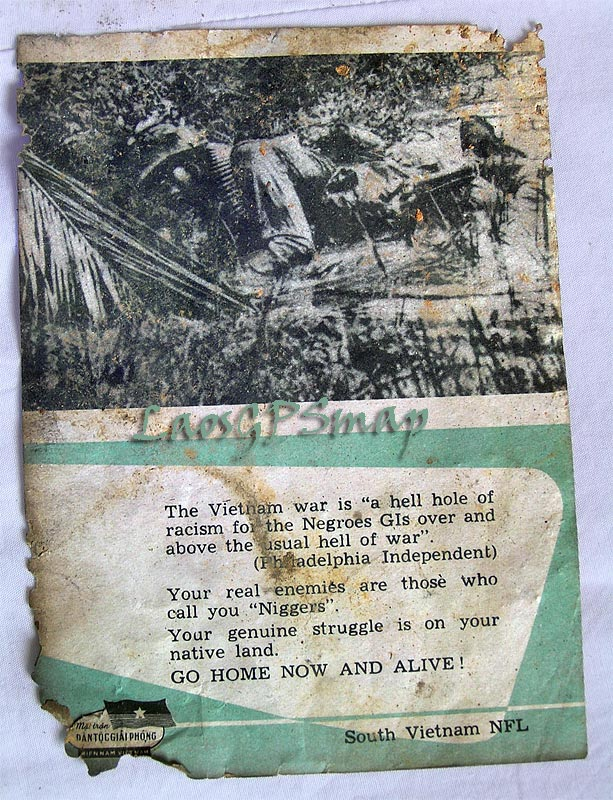 Ho Chi Minh Trail pysops-flyer