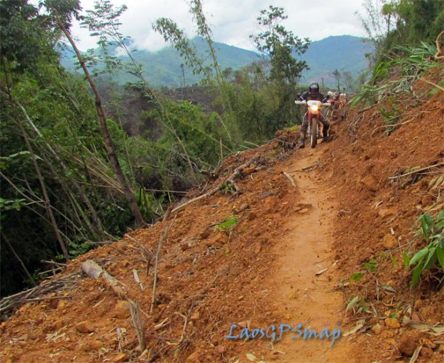 Motorcycle Laos Jungle Track Xiasomboun District