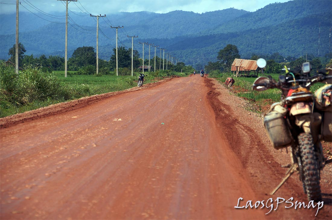 Red Road Bokeo Province Northern Laos