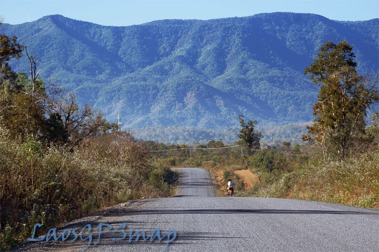 Motorcycle Laos National Road 16