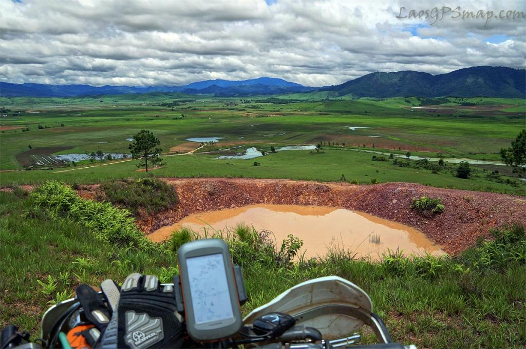 Motorcycle Laos Top Of the World PDJ