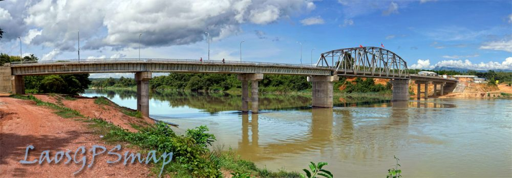 Nam Ngum bridge completed