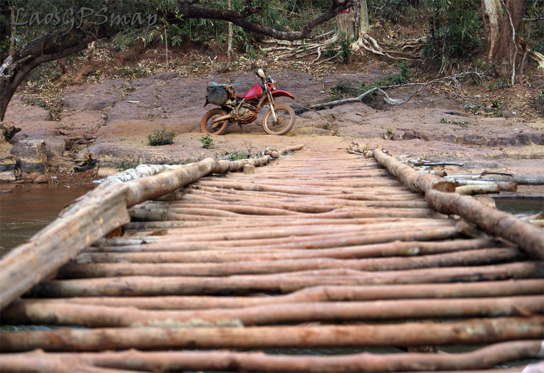 Stick bridge Kaluem district