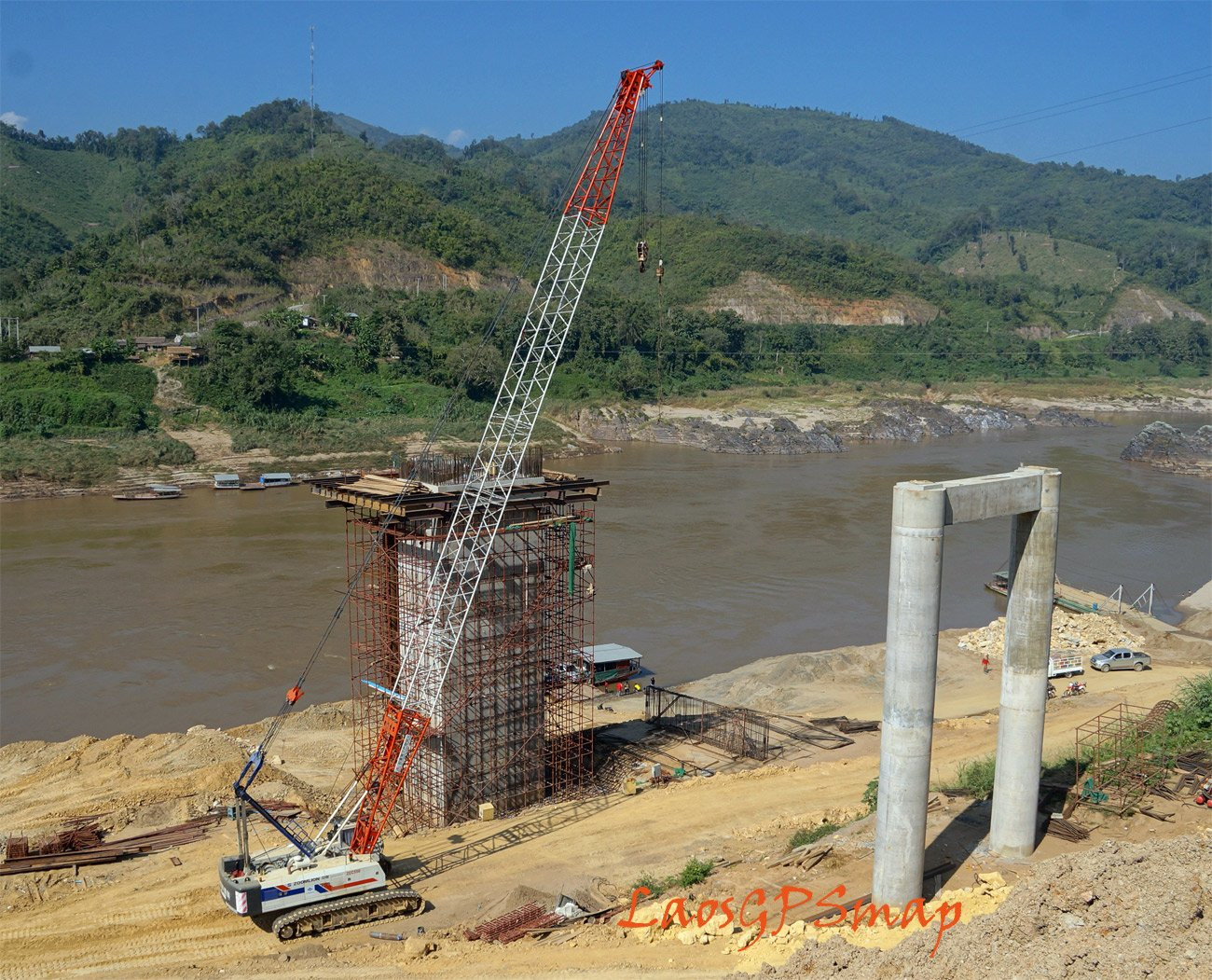 Pakbeng Mekong progress