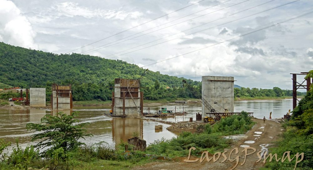 Nasak - Khokhado, Mekong bridge project at Paklay road 4
