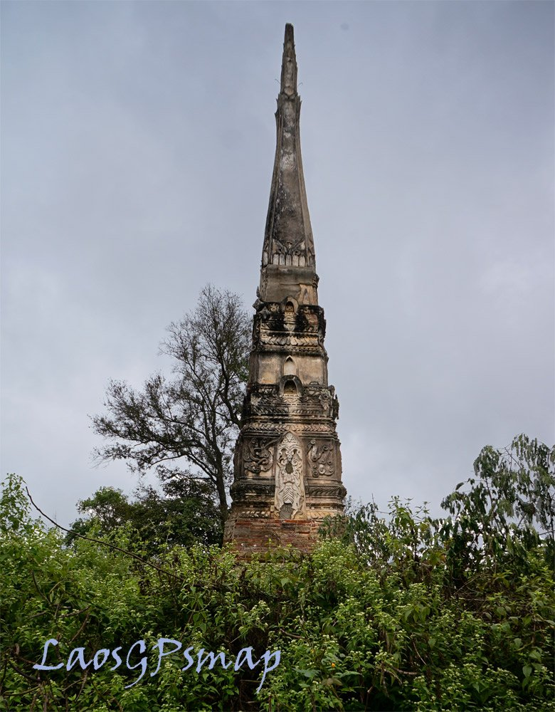 Old stupa near new town