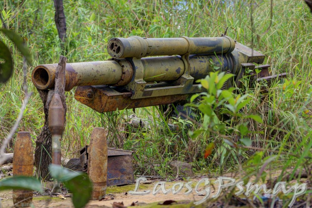 Ho Chi Minh Trail gun found on the Ho Chi Minh trail