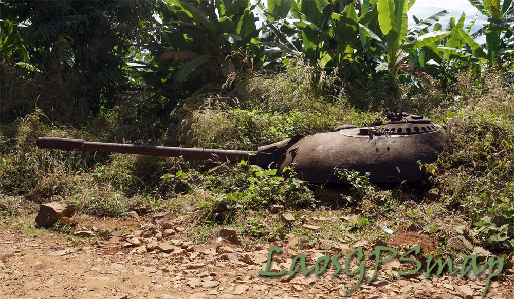 Tank Turret on the Ho Chi Minh trail